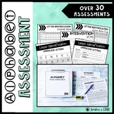 Letter Recognition Assessments ❘ Progress Monitoring ❘ Int