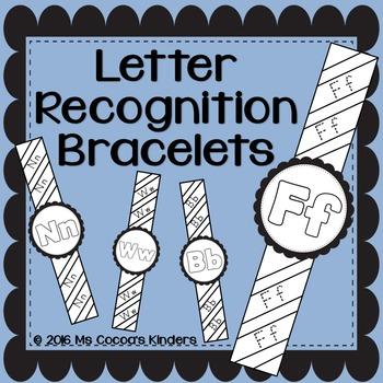 Letter Recognition Bracelets