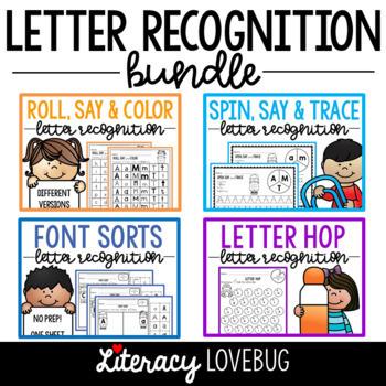 Letter Recognition Activities BUNDLE