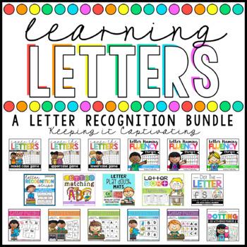 Learning Letters {A Letter Recognition Bundle}