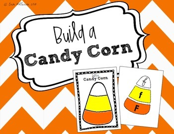 Letter Recognition Candy Corn