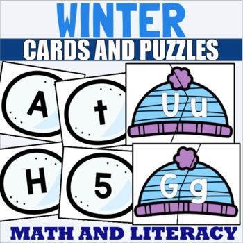 Letter Recognition Centers and Games for Winter