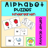 Back to school  Letter Recognition Centers