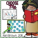 Letter Recognition - Choose Me