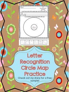 Letter Recognition Circle Maps