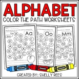 Letter Recognition  - Alphabet Letter Recognition Coloring Activities