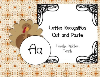 Letter Recognition Cut and Paste