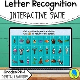 Letter Recognition Digital Game Interactive Powerpoint Dis