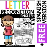 Letter Recognition {English plus Free Spanish version}