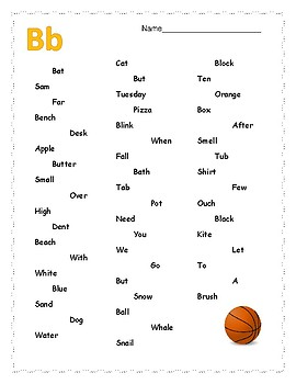 Letter Recognition-FREEBIE!! Full version to come!