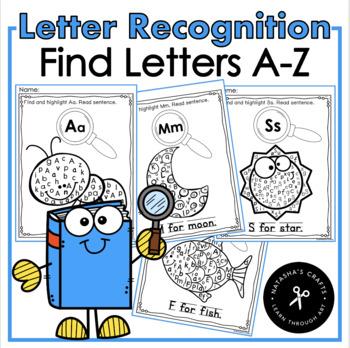 Letter Recognition / Find Letters A-Z