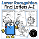 Letter Recognition / Find Letters A-Z