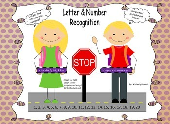 Letter Recognition (Find and Color)