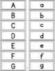 Letter Recognition Folder System for Practicing and Assessing Letter Recognition
