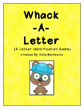 Letter Recognition Game (Whack-a-Letter)