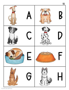 Letter Recognition Game or Center: Hot Diggity!