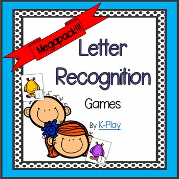 Alphabet A-Z Letter Recognition Games Megapack