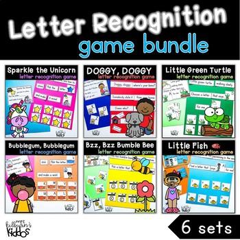 Letter Recognition Games {the BUNDLE}