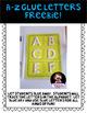 Letter Recognition Glue Dots