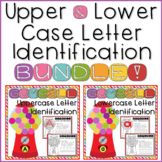 Letter Recognition Worksheets + Handwriting Practice Upper & Lowercase BUNDLE