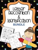 Letter Recognition & Identification Bundle {5 worksheets/l