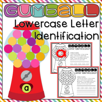 Letter Recognition Worksheets + Handwriting Practice Lowercase