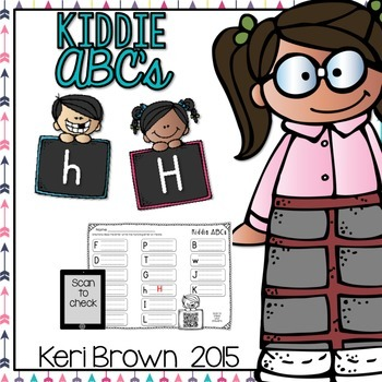 Letter Recognition - Kiddie ABCs