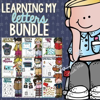 Letter Recognition - Learning My Letters Bundle