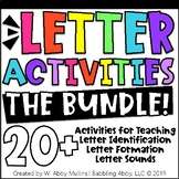 Letter Recognition | Letter Formation | Letter Sounds | Alphabet Activities