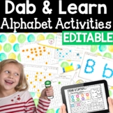 ABC Letter Recognition & Sound: Dab & Learn Print & Go Dis
