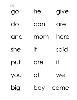 Letter Recognition, Letter Sound, Word Work Sheets