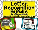 Letter Recognition Letters and Sounds Bundle