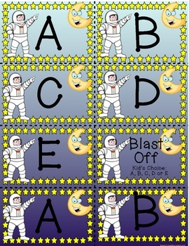 Letter Recognition Letters and Sounds Game