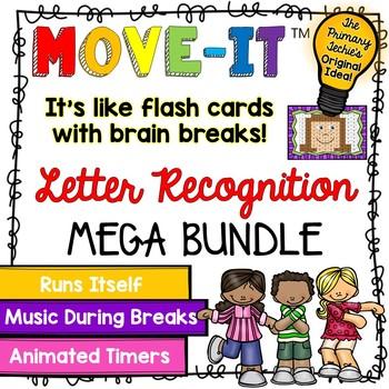 Letter Recognition MOVE IT - The Bundle