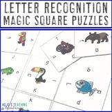 Letter Recognition Games or Worksheet Alternatives | Alphabet Centers