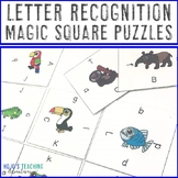 Letter Recognition Literacy Center Game