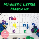 Letter Recognition : Magnetic Letter Match-up