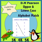Letter Recognition Match Upper to Lower Case Letters