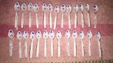 Letter Recognition Matching Spoons Game