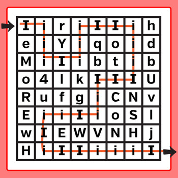 Letter Recognition Mazes :Mixed Case: Learn the Letters of the Alphabet Clip Art