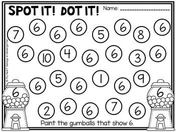 Number Recognition - Letter Identification BUNDLE