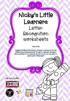 Letter Recognition Pack