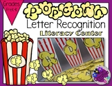 Letter Recognition - Popcorn Sorting Literacy Center