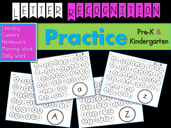 Letter Recognition Practice