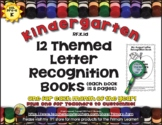 Letter Recognition Practice Books - RF.K.1d - 13 Books for Kinders and ESL
