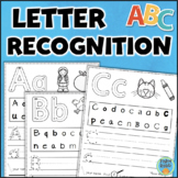Letter Recognition and Formation Worksheets Packet