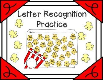 Letter Recognition Practice {Popcorn}