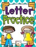 Kindergarten- Letter Recognition Practice