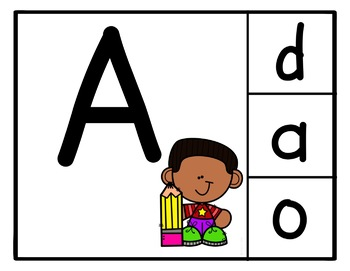 Letter Recognition Practice: Uppercase to Lowercase Matching BOOM Cards