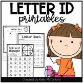 Letter Recognition {Common Core Printables}